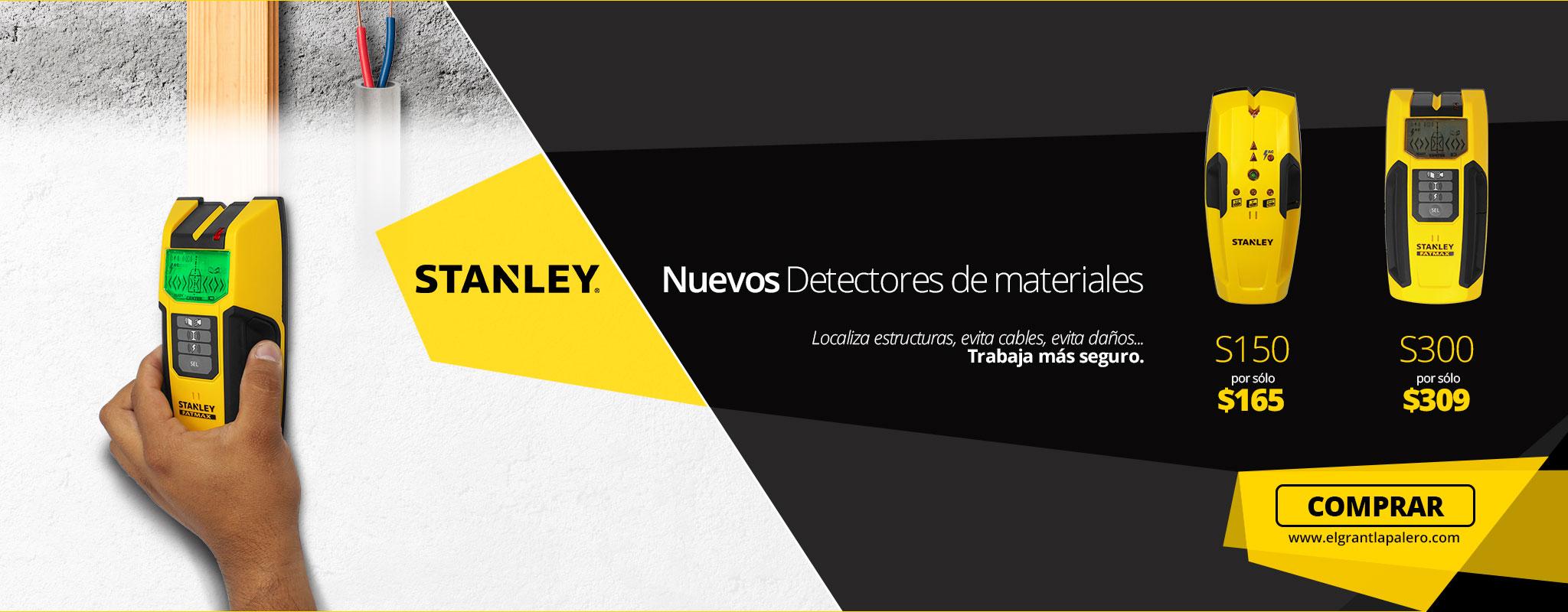 Conoce los nuevos detectores de materiales Stanley