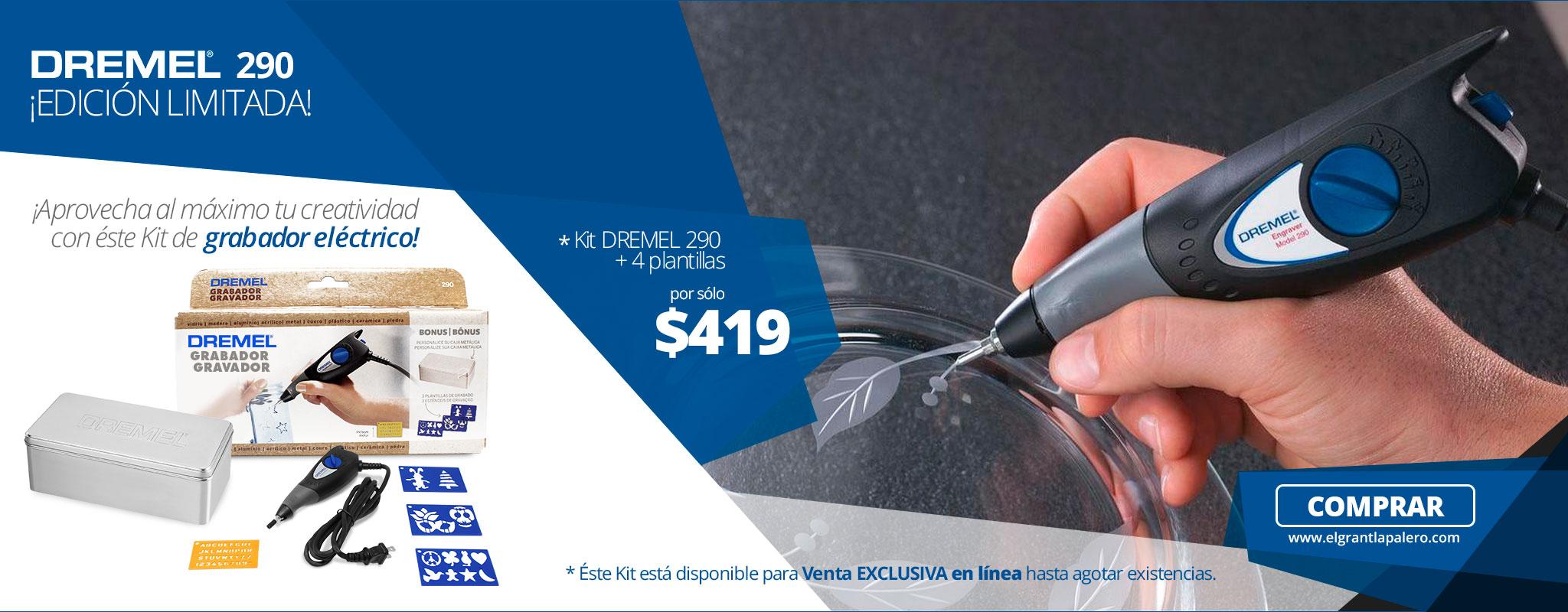 Grabador eléctrico DREMEL 290 edicion limitada!