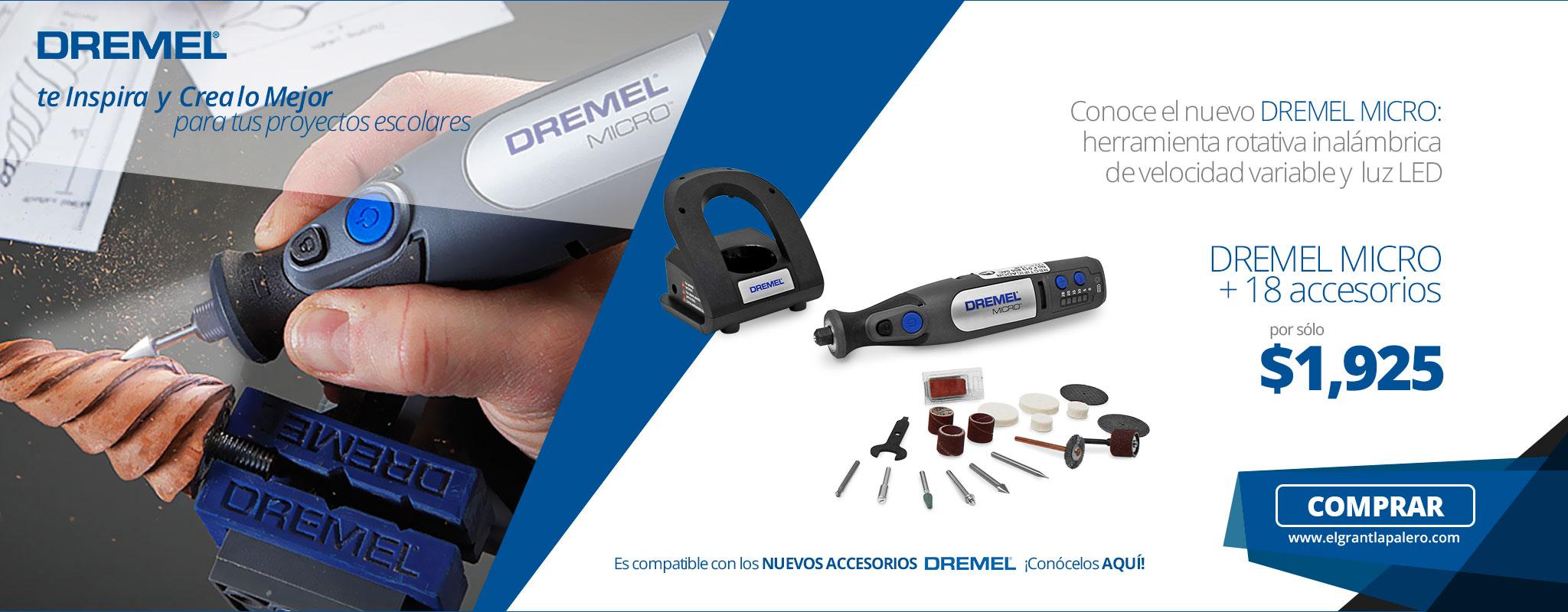 Inspírate con herramientas DREMEL