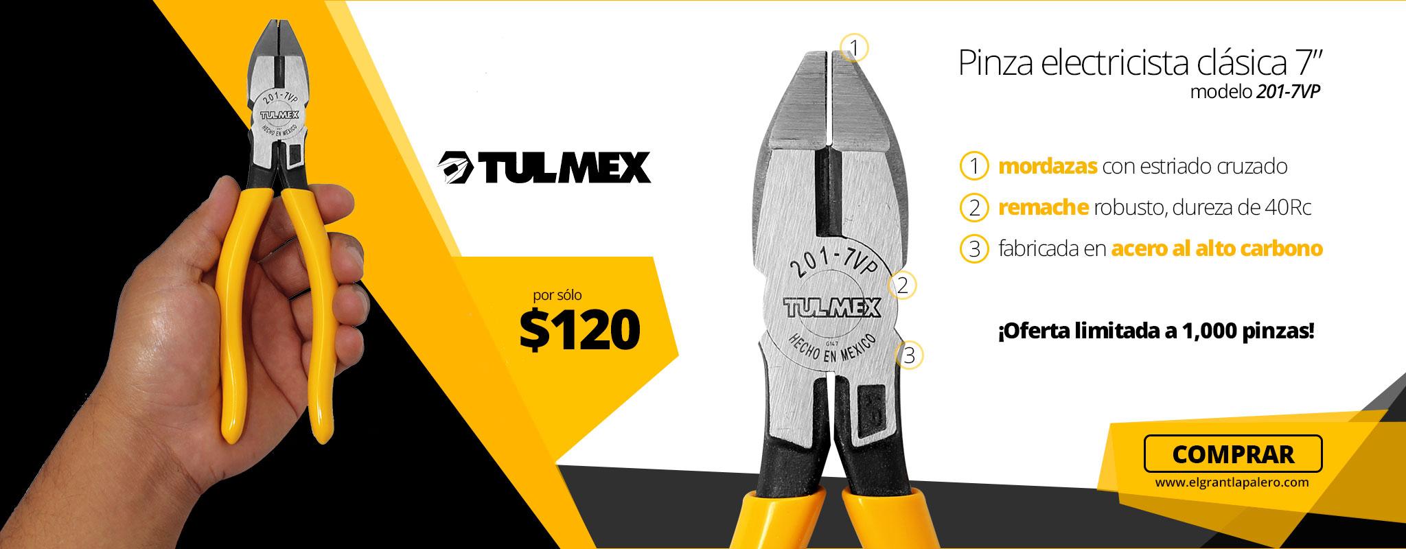 Pinza 201-7VP Tulmex en Oferta!