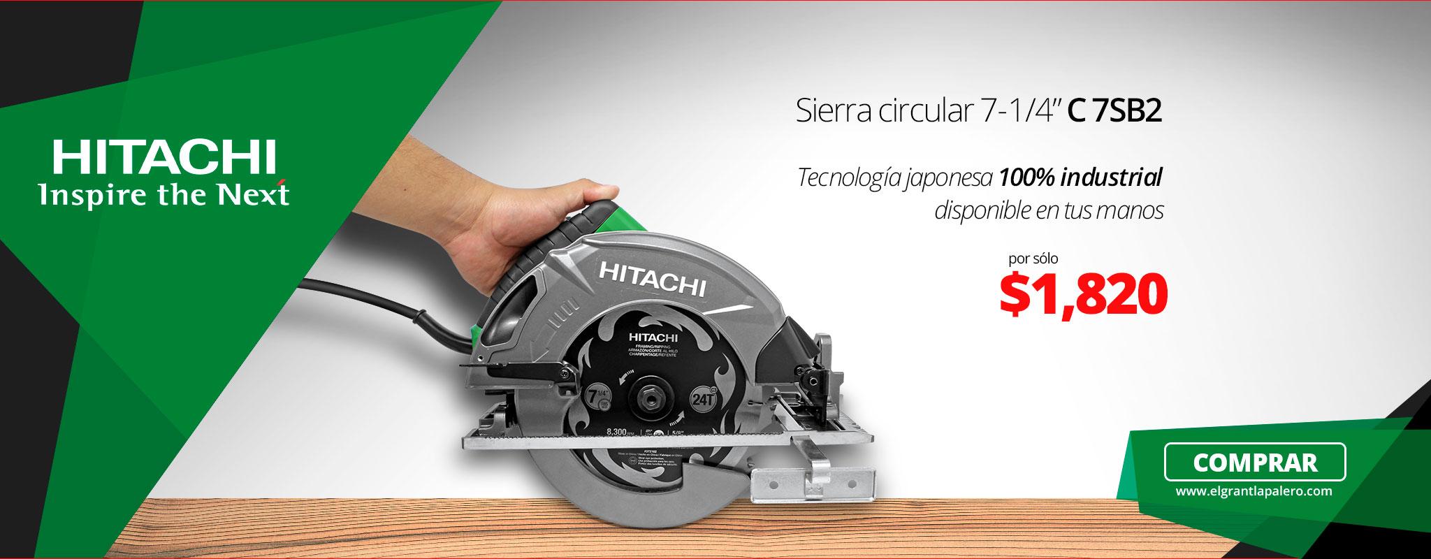 Tecnología japonesa 100% industrial Hitachi