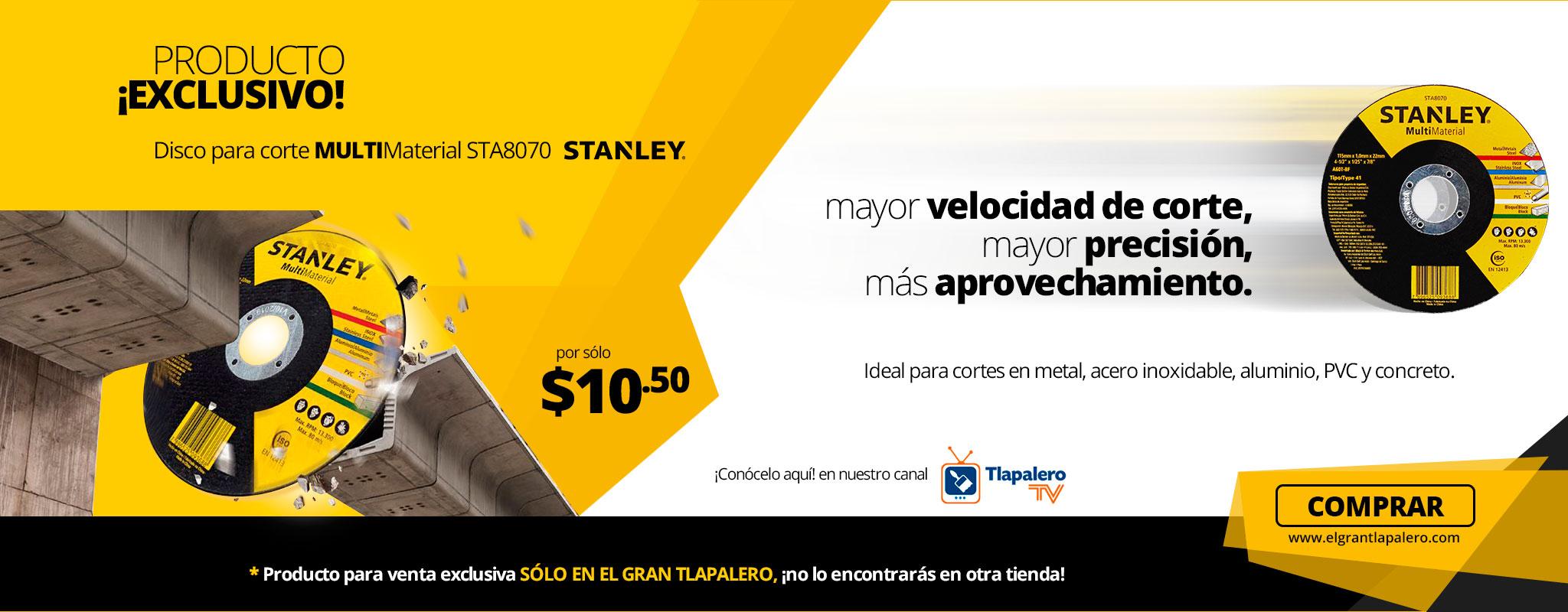 Disco para corte MULTIMATERIAL ST8070 Stanley