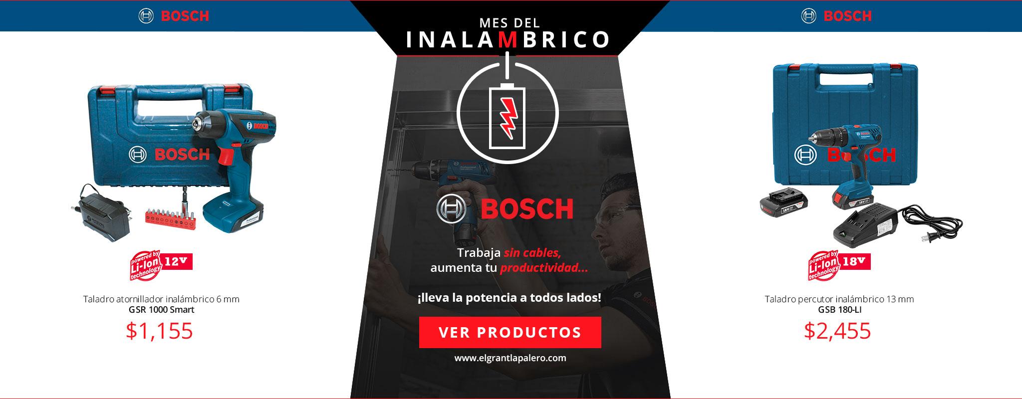 Mes de los inalámbricos con Bosch
