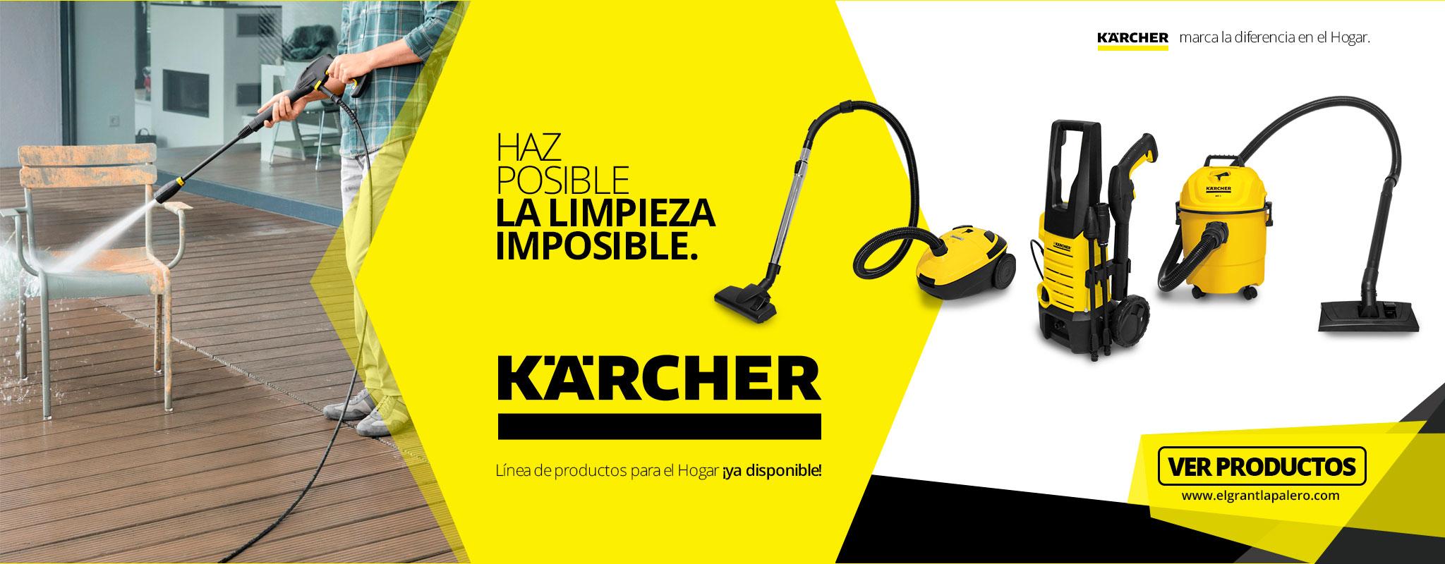 ¡Nueva línea de productos KARCHER ya disponibles aquí!