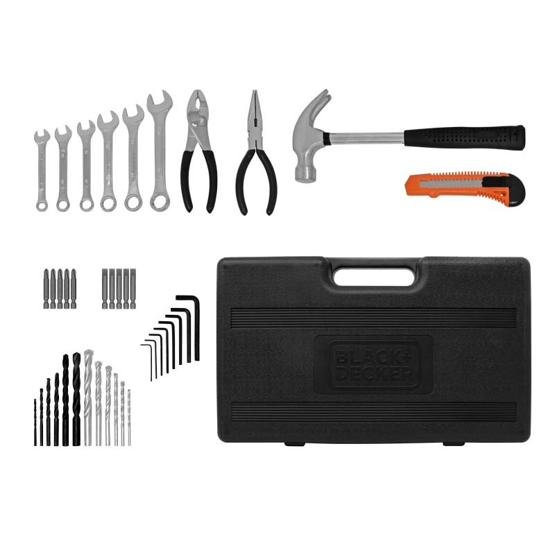 "Kit de Rotomartillo de 1/2"" con accesorios HD565K-B3 Black & Decker"