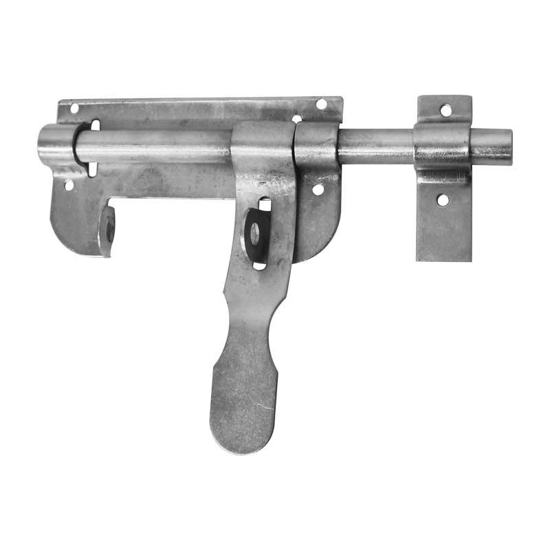 Pasador cerrojo tipo mauser 20 cm galvanizado forjametal - Puerta de acero galvanizado ...