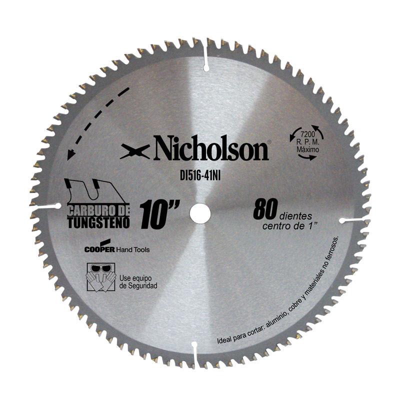 Sierra 80 dientes de carburo de tungsteno corte aluminio for Sierra de cortar