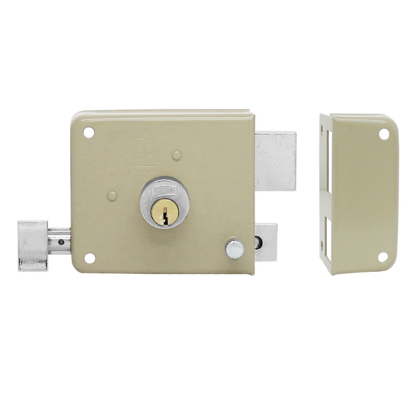 Cerradura de sobreponer Insta-Fácil derecha 715 Phillips