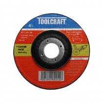 "Disco para corte de metal 4-1/2"" TC1905 Toolcraft"