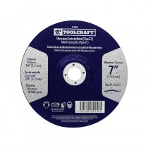 "Disco para corte de metal 7"" TC1906 Toolcraft"