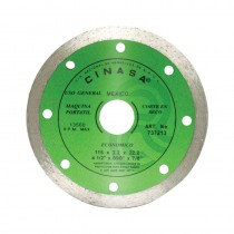"Disco diamante liso 4-1/2"" Cinasa"