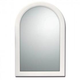 Espejo arco de plástico Beta blanco