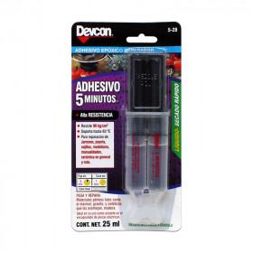 Adhesivo rápido jeringa 25 ml 5-28 Devcon