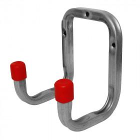 Gancho doble para utensilios 90 x 120 x 98 mm 02968 Alfer