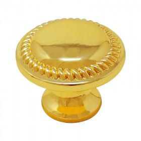 Jaladera botón Grecia latón brillante 3834 Handy Home