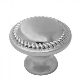 Jaladera botón Grecia níquel satinado 3835 Handy Home