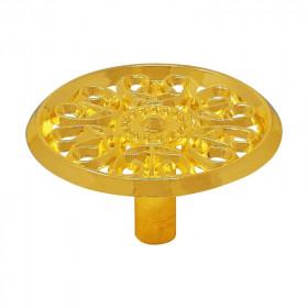 Jaladera botón Elegant latón brillante 3849  Handy Home