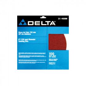 """Disco de lija con pegamento 9"""" grano 80 Delta"""