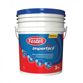 Impermeabilizante rojo 3A 4 litros Fester