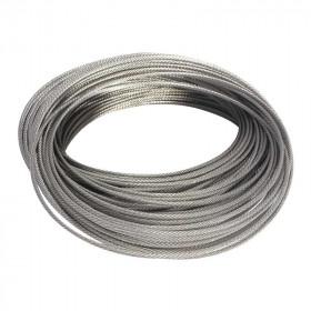 Cable de acero inoxidable 2 mm x 1 metro Herralum
