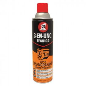 Super desengrasante en espuma 521 ml 3 en 1 Técnico WD-40