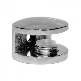 Soporte para vidrio cromo K755 Moldutech