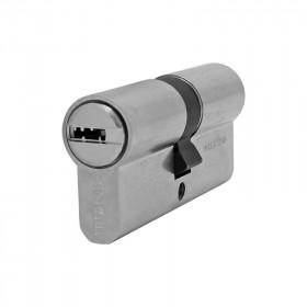 Cilindro de perfil europeo llave / llave níquel mate HS-6 Azbe