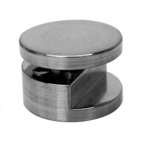 Soporte para vidrio J60E niquel Moldutech