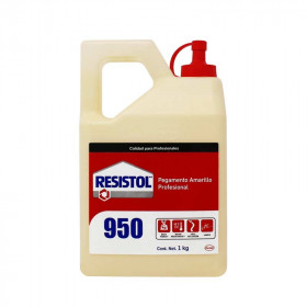 Pegamento Resistol 950 amarillo de 1 Kg