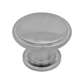 Jaladera botón Yema cromo / niquel satinado 135427 Rish