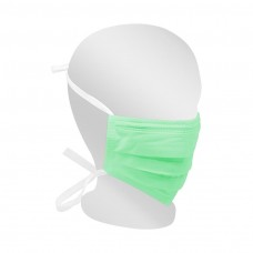 Paquete de mascarillas plisadas verdes Surgical Plus Far-Star medical