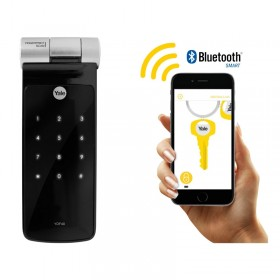 Cerradura digital Biométrica con Bluetooth YDF40 Yale